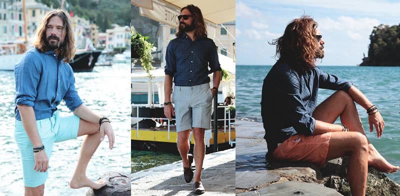 4 segreti per indossare i bermuda con stile