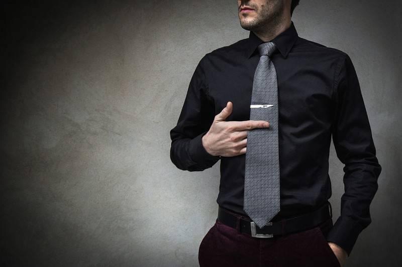 il fermacravatta come indossarlo con stile