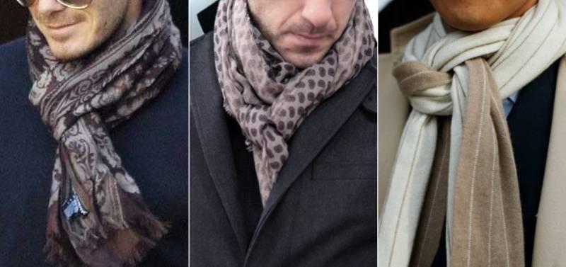 indossare la sciarpa al posto della cravatta unottima alternativa per luomo di successo