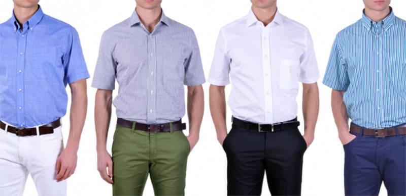 La camicia a maniche corte in estate…Si o no
